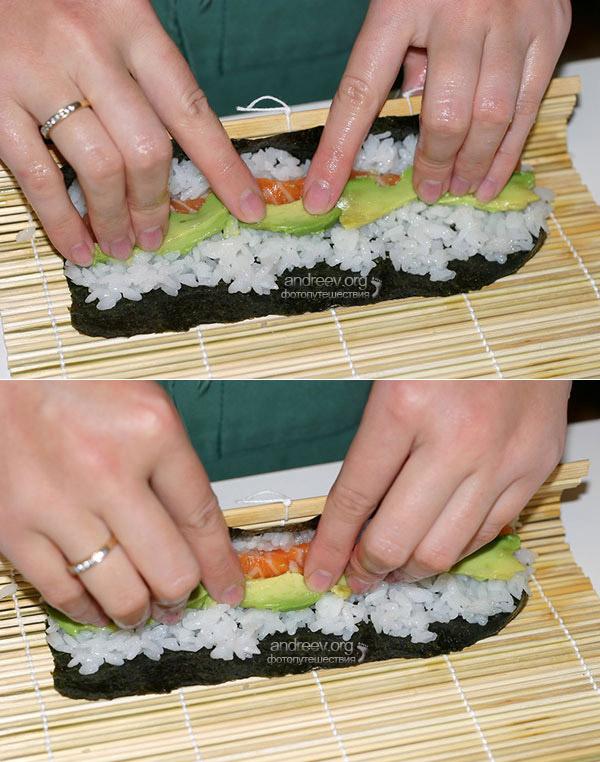 Суши как сделать самой себе